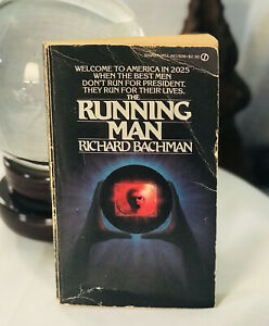 The Running Man by Richard BACHMAN /Stephen King 1st Edition PB 1982 Signet GOOD