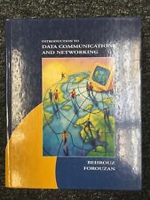Introduction to Data Communications and Networking by Forouzan - See Description