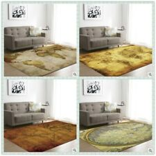 World Maps Theme Printing Floor Confetti Rug Carpet ALL SIZE MADE IN CHINA New