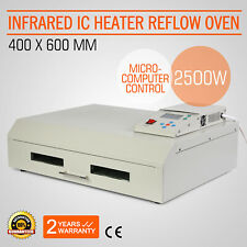T-962C Infrared SMD BGA IC Heater Reflow Oven Soldering Machine 400x600mm 2500W