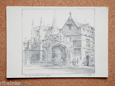 R&L Postcard: Magdalen College Oxford, J W King