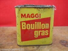 Ancienne boîte, Bouillon Gras, MAGGI