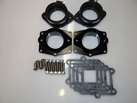 Chariot Banshee BLACK PowerValve Cheetah ONLY Billet Intakes 44-48mm carbs