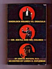 Sherlock Holmes Vs Dracula - Dr. Jekyll & Mr. Holmes Loren D. Estleman Paperback