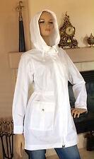 UNIQLO WOMEN MILITARY PARKA COAT COLOR WHITE NWT SIZE S MSRP 89.90
