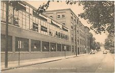 S.W. Card Manufacturing Company in Mansfield MA Postcard