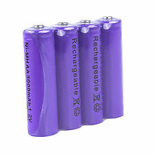 AAA Size Ni-MH Rechargeable Battery Cell (2Pcs) 1.2V 1800mAh