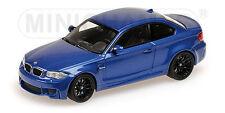 BMW 1ER COUPE 2011 BLUE MINICHAMPS 1/43 NEW