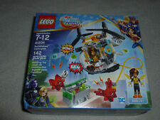NEW IN BOX LEGO DC SUPER HERO GIRLS 41234 BUMBLEBEE HELICOPTER 142 PCS NIB SET