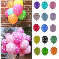 "10/20/50/100 Pcs Latex Polka Dot Balloon Party Birthday Wedding Decorating 12"""