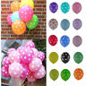 "10/20/50/100 Pcs Birthday Wedding Party Decorating Latex Polka Dot Balloons 12"""