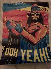 Wrestle Crate UK - Macho Man Randy Savage Poster WWF