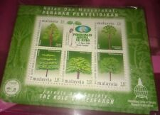 Malaysia 2000 Forest Research MS Stamp MNH fv 50 sen
