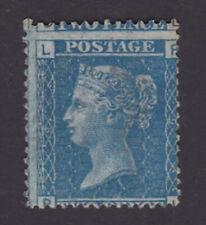 GB. QV. SG 45, 2d blue, plate 9. Mint, no gum.