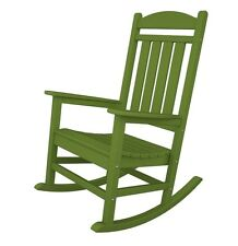 Polywood Presidential Rocker Rocker Lime - R100LI Rocker NEW  sc 1 st  eBay : outdoor plastic rocking chairs - Cheerinfomania.Com