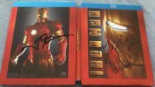 Iron Man Blu-ray Steelbook Future Shop exclusive w/ Autographs OOP RARE GRAIL