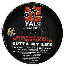 "Deadmau5 Feat. Billy Newton Davis - Outta My Life, 12"", EP, (Vinyl)"