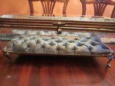 "11-1/2""  Rare Huge Antique Ormolu French Casket Box Vitrine Jewelry Box"