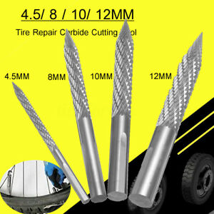 """Tyre Cutter/Drill/Mill Carbon steel For 1/2""""  Puncture Repairs Tyre Plug"""