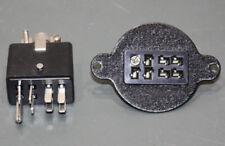 Cinch Jones 8 Pin Connector Pair/Set, Beau Power Plug, PG-308-CCT & SG-308-RP