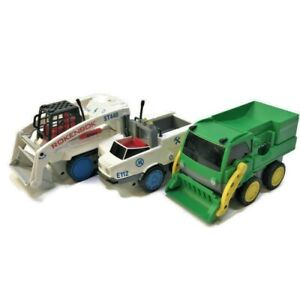 Lot of 3 Rokenbok Vehicles RACK LOADER ST440 RC Vehicle E112 Dump Truck BZT G132