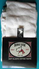 LEGGING MI-LONG FILLE 140-146cm coton ivoire écru Chou Chou BONNIE DOON NEUF