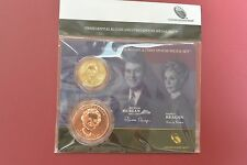 2016 Ronald Reagan Presidential $1 Coin & First Spouse Medal Set