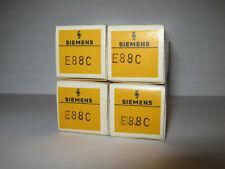 4 x Siemens E88C / E 88 C / 8255, Goldpins Triode, Röhre, Vacuum Tube, NOS NIB