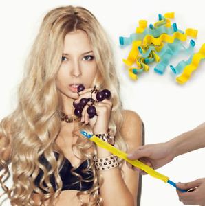 Spiral Bendy Rollers Plastic Hair Roller Soft Curler Water Wave DIY Curling Tool