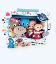 In The Night Garden Bumper Soft Toy 6 Pack Plush From Birth New