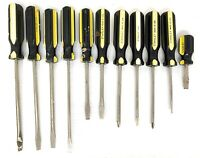 Vintage Lot of 11 STANLEY SCREWDRIVERS SLOTTED & PHILLIPS Made in USA
