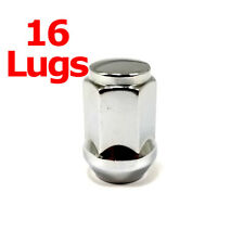 "16x Excalibur 1906 Lug Nuts 12x1.25 Bulge Acorn 3/4"" Hex Chrome Closed End"