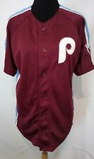 New Philadelphia Phillies Majestic Cooperstown Collection Jersey S
