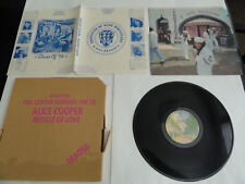 ALICE COOPER - MUSCLE OF LOVE LP IN BOX WITH INSERTS EXCELLENT CONDITION CUT OUT