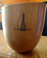 NEW CHANDON Champagne Aluminum Wine Cooler Chiller Ice Bucket Vintage