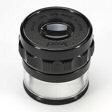 Picco 1983 misurazione Loupe Magnifier, 10x con 0,1 mm scala