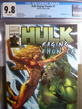HULK: Raging Thunder #1 CGC GRADED 9.8 WHITE PAGES 2008 Marvel comics Lyra 1st