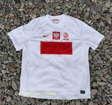 POLAND NATIONAL TEAM 2012 2014 HOME FOOTBALL SOCCER SHIRT JERSEY TRIKOT NIKE 2XL