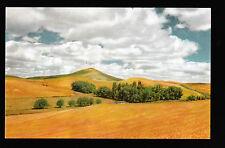 76 Union Oil vintage Steptoe Butte Palouse Spokane Washington postcard