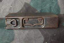 Original WW2 German MG  7.92 mm Steel Ammunition Box / Case - Dated 1941-