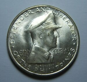 Uncirculated Philippines 1947 S One Peso 90% Silver KM#185 Ref#766