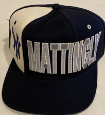 Vintage Don Mattingly New York Yankees Hat New With Tags Starter