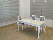 Esstisch/ Küchentisch weiß Hochglanz Maße B/H/T: 160 x 76 x 90 cm