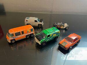 Loose Hot Wheels Baja Breaker Green & Silver Van Palm Beach Vintage 5 Hotwheels
