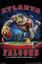 Atlanta Falcons FALCONS PRIDE SINCE 1966 End Zone TD Dive NFL Theme Art POSTER
