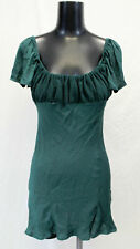 Verge Girl Women's Off The Shoulder Mini Dress SV3 Green Size AU:8 US:4 NWT