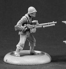 Reaper Miniatures American MACCHINA Gunner REICH dei morti 37010