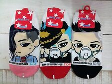 """BIGBANG"" / G-DRAGON / T.O.P / TAE YANG /  SOCKS 3PAIRS DESIGN_KOREA   K POP"