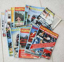 QUATTRORUOTE ANNATA COMPLETA ANNO 1981 13 NUMERI LOTTO RIVISTA MENSILE AUTO