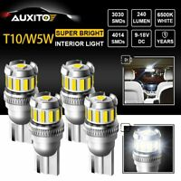4X T15 921 Super White LED Bulbs Car Backup Reverse Light Lamp Error Free AUXITO